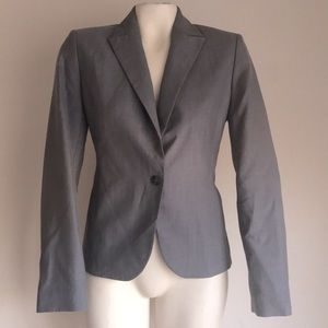 Calvin Klein blazer size 2 gray
